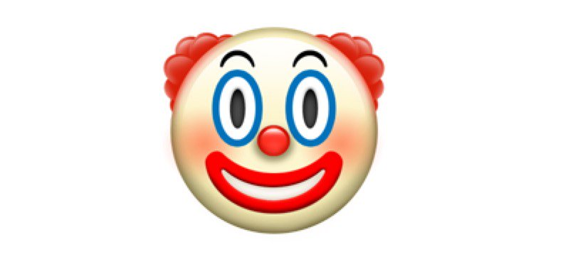 clown-ios10-emojipedia